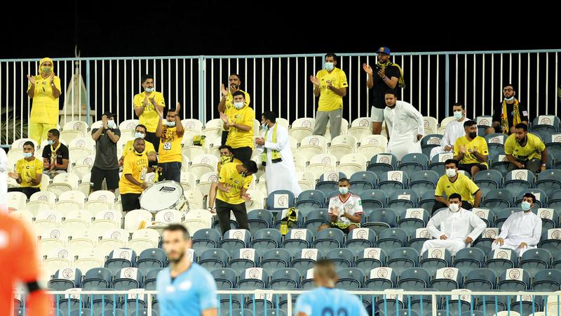 حملة التزامكم سعادة تنطلق مع عودة الجماهير إلى ملاعب أندية دبي.   من المصدر