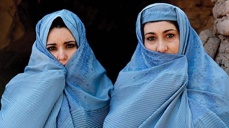 نساء أفغانيات يخشين التعرض للاضطهاد.   أرشيفية