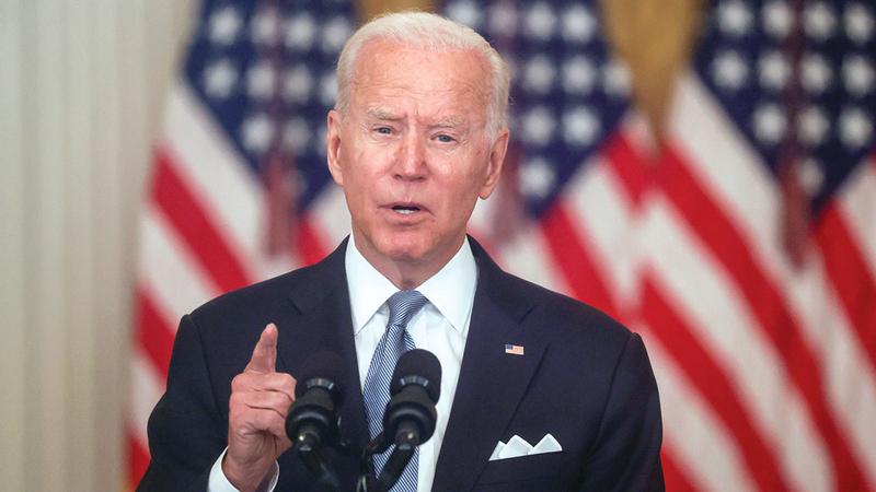 بايدن قد ينهي الوجود الأميركي في العراق.   رويترز