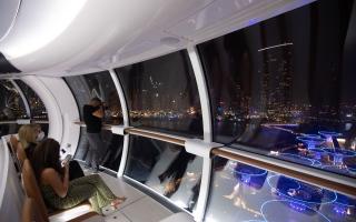 الصورة: «عين دبي» تدور.. استعدوا للتحليق في 21 أكتوبر