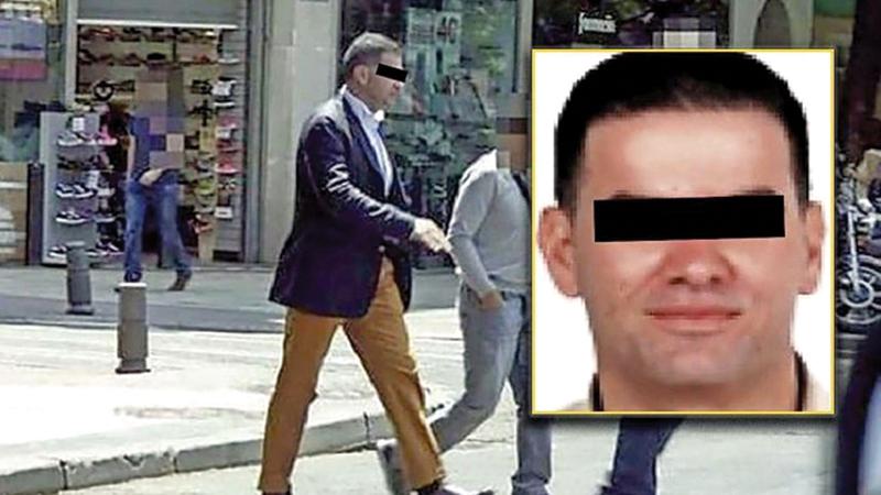 شرطة دبي استمرت في مراقبة رافاييل إمبريال على مدار الساعة.   من المصدر