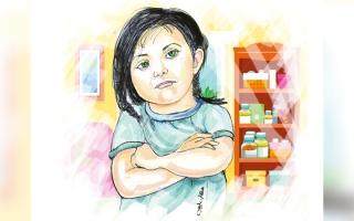 الصورة: متبرّع يسدد كلفة علاج الطفلة «جودي» لمدة 6 أشهر