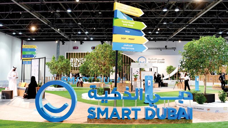 منصة «استثمر في دبي» تعكس التزام الإمارة بتحقيق رؤيتها في التحول إلى المدينة الأذكى في العالم.   أرشيفية