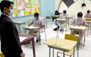 الصورة: «التعليم والمعرفة» تُلزم المدارس بـ 4 تدابير.. وتستثني 4 فئات من ارتداء الكمامات