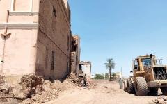 الصورة: هدم قصر «مصري» استضاف سعد زغلول وتحدى الإنجليز