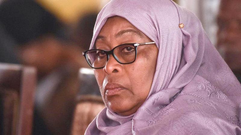 الرئيسة التنزانية سامية حسن. غيتي