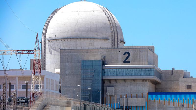 سيتم ربط المحطة الثانية بشبكة الكهرباء الرئيسة في الإمارات خلال الأشهر المقبلة.  من المصدر