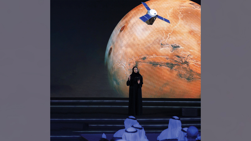 سارة الأميري تتولى منصب رئيسة مجلس إدارة وكالة الإمارات للفضاء.  أرشيفية