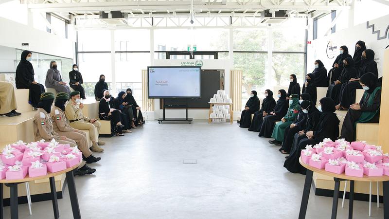 الفعاليات تترجم الحرص على تمكين المرأة الإماراتية ودعمها.  من المصدر
