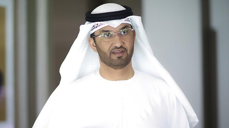 سلطان بن أحمد الجابر: «مشروع (نور نافوي) سيسهم في ضمان مستقبل أكثر استدامة».