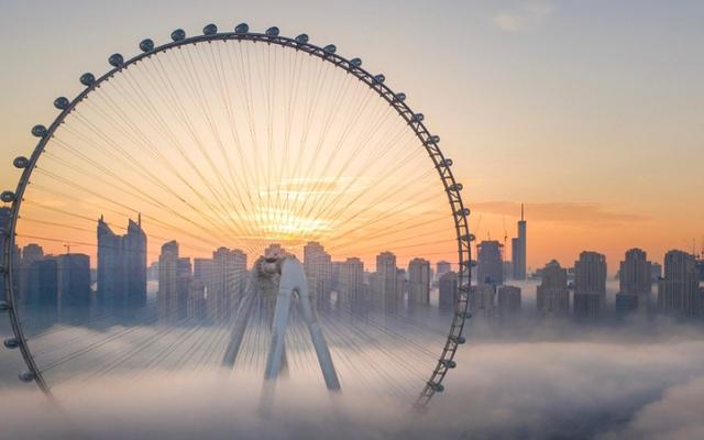 الصورة: غرافيك.. «عين دبي» تستعد لاستقبال الزوار