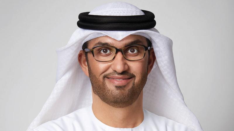 سلطان الجابر: «التقرير يؤكد المكانة الدولية التي وصلت إليها الإمارات في تحديث القطاع الصناعي».
