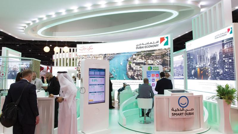 اقتصادية دبي تسعى إلى تعزيز التجارة الإلكترونية وتنافسية اقتصاد الإمارة.   أرشيفية