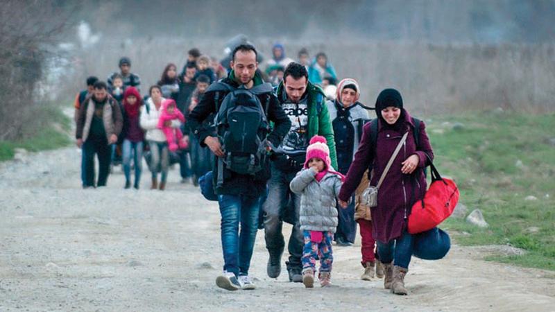 أوروبا تخشى تكرار تجربتها مع النازحين السوريين. غيتي
