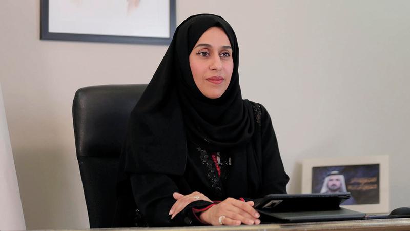 حصة بوحميد: «ابنة الإمارات تستعد للصعود إلى الفضاء، بعد وضع بصمتها في مسيرة التنمية».