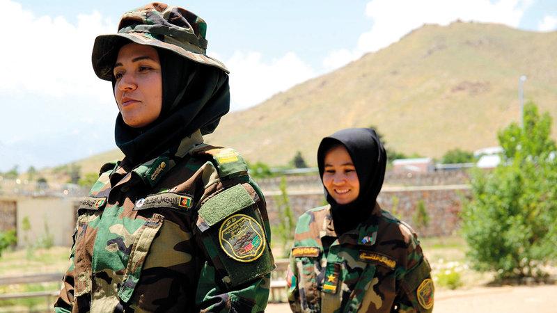 نساء أفغانيات عملن في الجيش الأفغاني وبتن الآن يواجهن الخطر.   أرشيفية