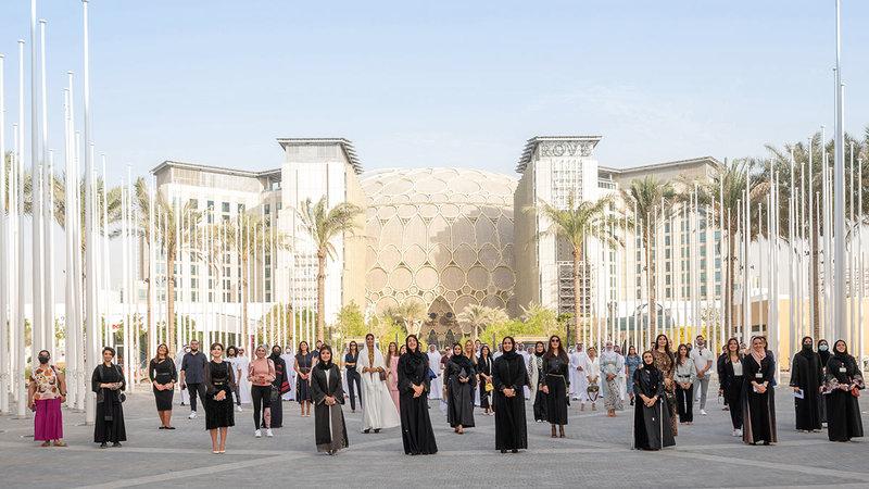 اللقاء استعرض التفاصيل التقنية والحصرية لنقل أحداث «إكسبو 2020 دبي» للعالم ابتداء من أكتوبر المقبل.  من المصدر