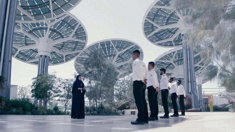 الموافقة على الزي الخاص بحراس الأمن لـ«إكسبو 2020 دبي». من المصدر