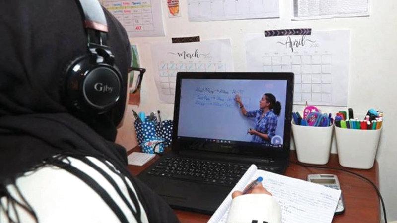 بيئة التعليم المنزلية تفتقد التفاعل الصفي وقد ينعكس نفسياً على الطلبة.   من المصدر