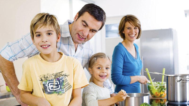 الوجبات الصحية الخفيفة مفيدة للأطفال.   أرشيفية