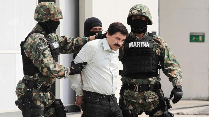 إل شابو بنى إمبراطورية في المكسيك من تهريب المخدّرات.  أرشيفية