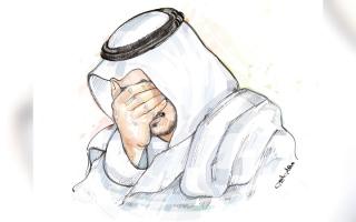 الصورة: «أبوشيخة» مهدد بالسجن بسبب 3 قضايا مالية بـ 590 ألف درهم