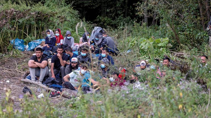 بولندا اتهمت بيلاروسيا بمحاولة تسهيل دخول المهاجرين إلى أراضيها.   أرشيفية