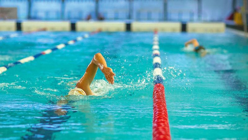 السباحة من أهم الرياضات المفيدة لصحة الظهر.   أرشيفية