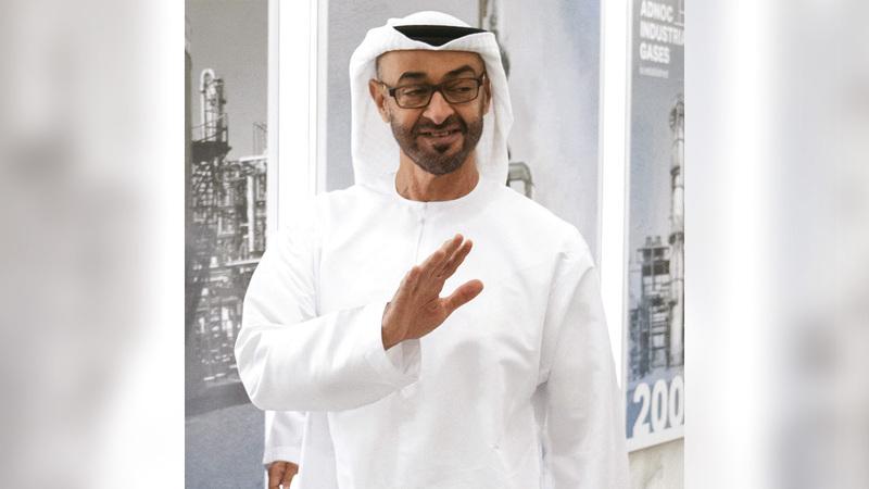 صورة محمد بن زايد يهنئ القايد والعرياني بإنجاز «بارالمبية طوكيو»