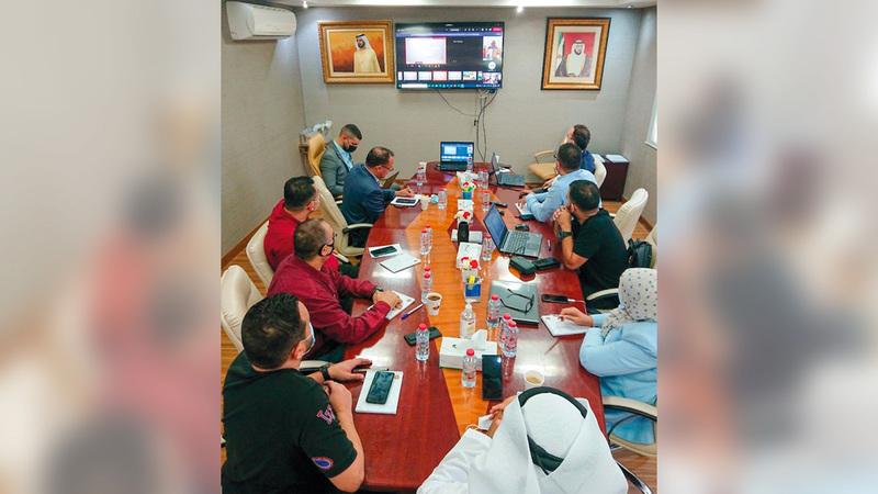 مجلس دبي الرياضي أنهى الزيارات التقييمية للأندية وشركات كرة القدم.   من المصدر