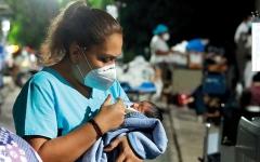 الصورة: أحداث وصور.. دمار.. وخوف.. ونزوح.. جراء زلزال أكابولكو المكسيكية