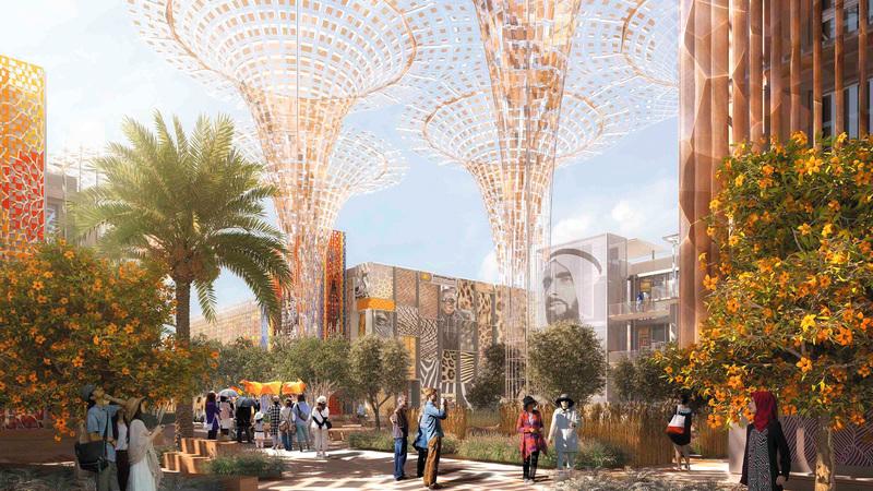 دبي تستضيف أكثر من 25 مليون زائر متوقع من 191 بلداً مشاركاً في «إكسبو 2020».   من المصدر