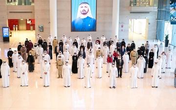الصورة: محمد بن راشد: الدولة قدّمت للعالم نموذجاً فريداً في التعامل مع التحديات الصعبة