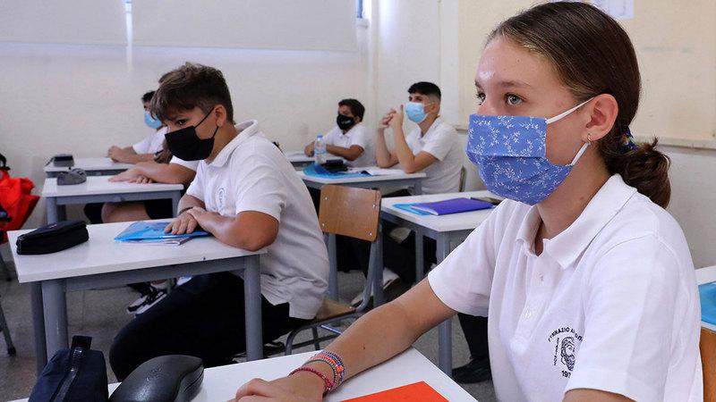 كثير من اللبنانيين ألحقوا أولادهم بمدارس قبرص.  إي.بي.إيه