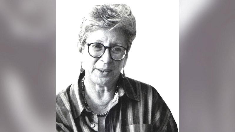 لدكتورة الكاتبة والناقدة أمينة رشيد.  أرشيفية