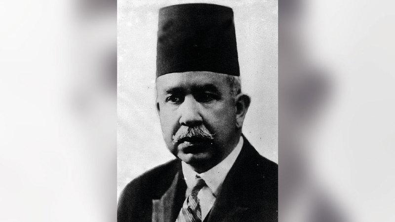 إسماعيل صدقي باشا.  أرشيفية