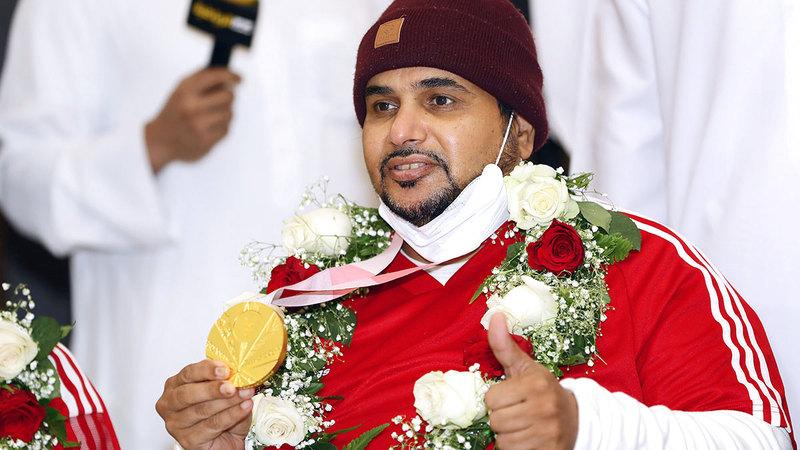 عبدالله العرياني المتوّج بذهبية الرماية في دورة الألعاب البارالمبية «طوكيو 2020».    من المصدر