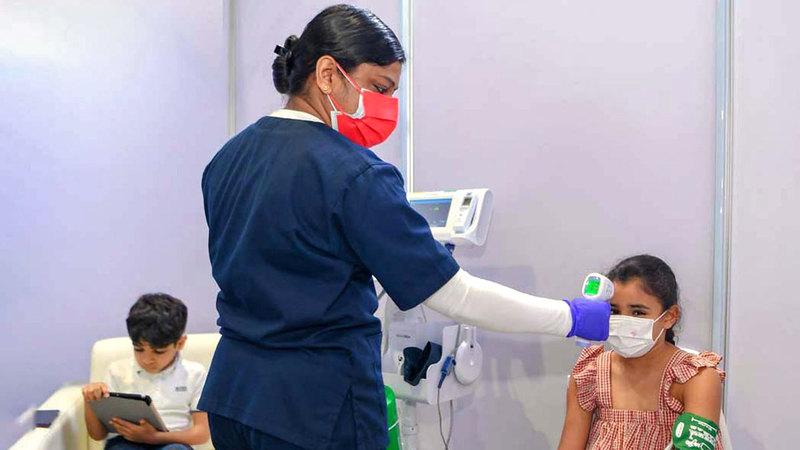 تطعيم الأطفال ضد «كوفيدـ19» يسهم في عودة الطلبة إلى المدارس بشكل آمن.  أرشيفية