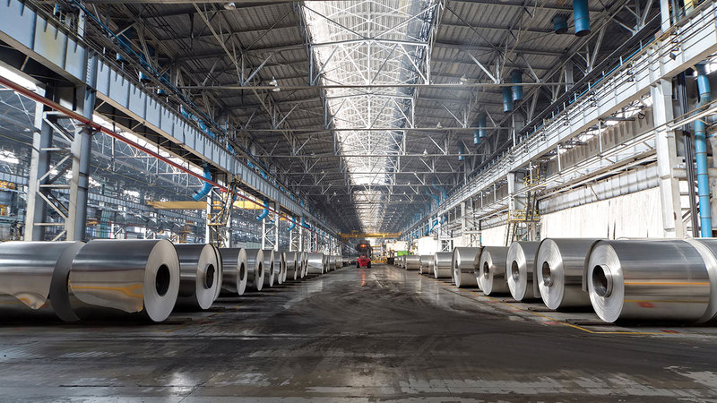 زيادة الصادرات 10% سنوياً تحتاج إلى التركيز على دعم قطاع الصناعة وتسهيل الاستثمار فيه.  أرشيفية