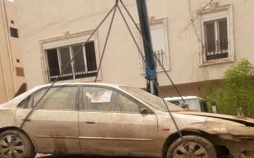 الصورة: رفع 3748 سيارة مهملة من شوارع مكة المكرمة