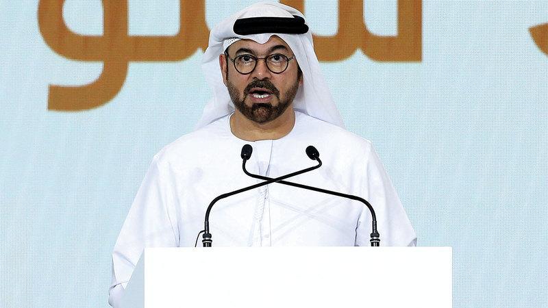 محمد القرقاوي: «الإمارات تعيش أفضل فتراتها، وتدخل (الخمسين الجديدة) في أقوى حالاتها».