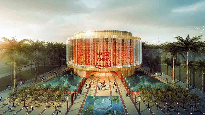 الجناح الصيني أحد أكبر الأجنحة المشاركة في المعرض على مساحة تتجاوز الـ4600 متر مربع.   من المصدر