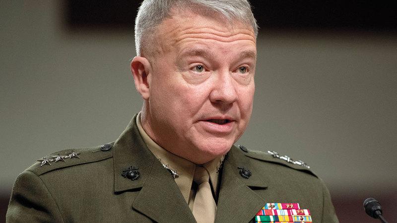 كينيث فرانكلين ماكنزي يؤكد أن الطائرات الأميركية التي تُركت في أفغانستان لا يمكن تشغيلها ولا أن تطير مرة ثانية.  أ.ف.ب