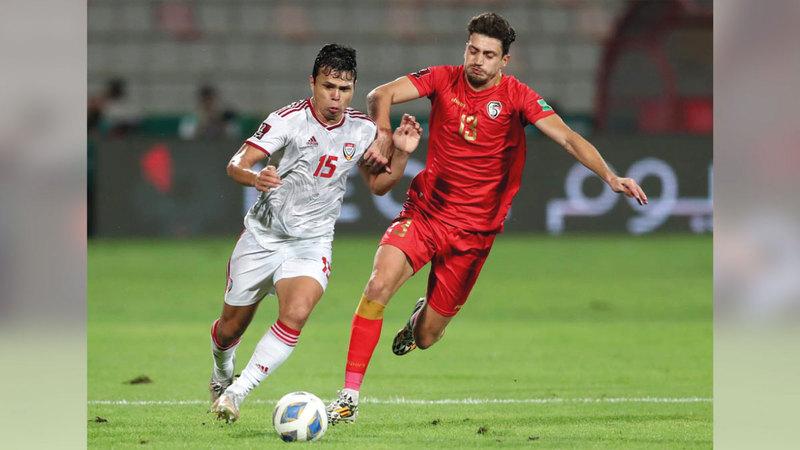 المنتخب قدم أداء متواضعاً أمام سورية بتصفيات كأس العالم.    من المصدر