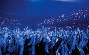 الصورة: الدنمارك: أول حفل تحضره عشرات الآلاف منذ جائحة «كورونا»