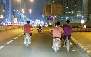 الصورة: لقطة.. دراجات نارية