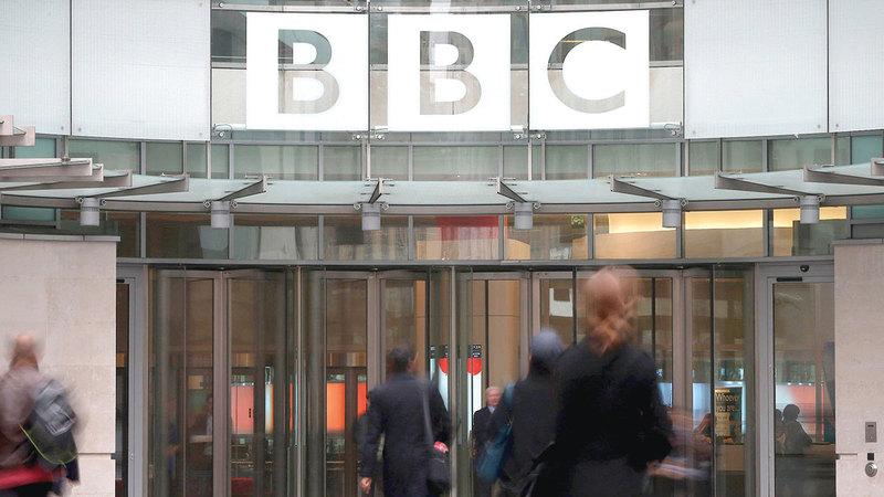هيئة الإذاعة البريطانية ذات صدقية تجاوزت الحدود الوطنية.   غيتي