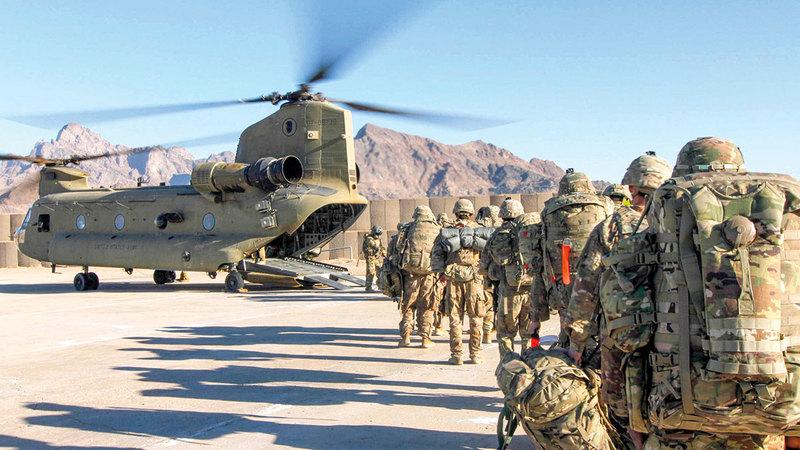 الانسحاب الأميركي من أفغانستان كان فوضوياً وغير مدروس. أرشيفية