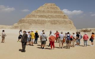 الصورة: مصر: مقبرة الملك زوسر تفتح أبوابها للسياح بعد ترميم استغرق 15 عاماً