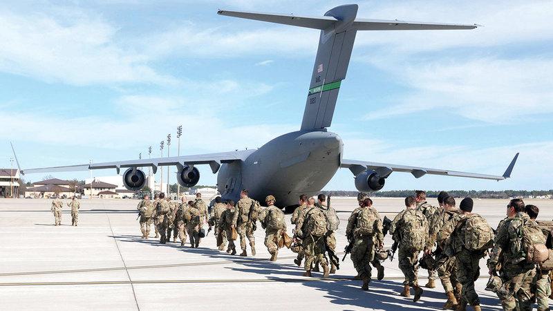 الوجود العسكري الأميركي في العالم استمر منذ الحرب العالمية الثانية.  أرشيفية